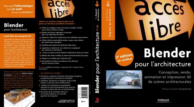Nouvelle édition de Blender pour l'architecture